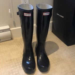 Black Hunter Boots and Socks!